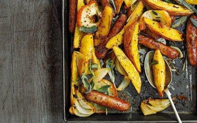 Salsiccia e Patate al forno Gluten Free