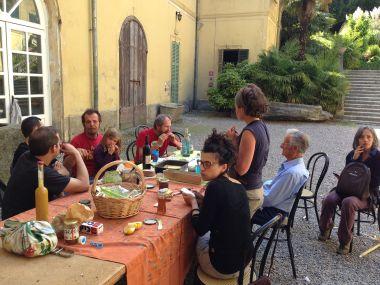 Civiltà Contadina - La parte finale del Pranzo Condiviso