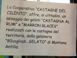 Cuccaro Vetere - Cooperativa Castagne del Cilento