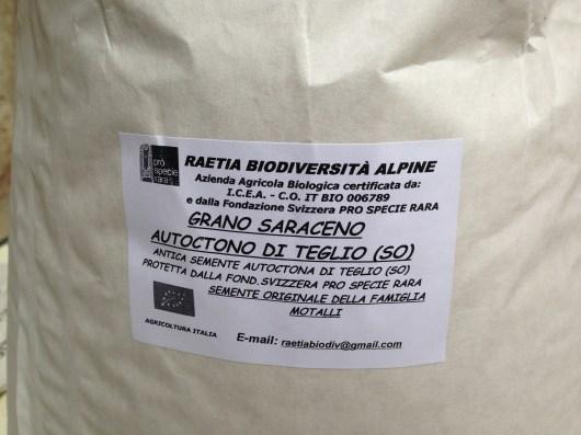 Grano Saraceno al Parco delle Cave - Raetia Biodiversita Alpine