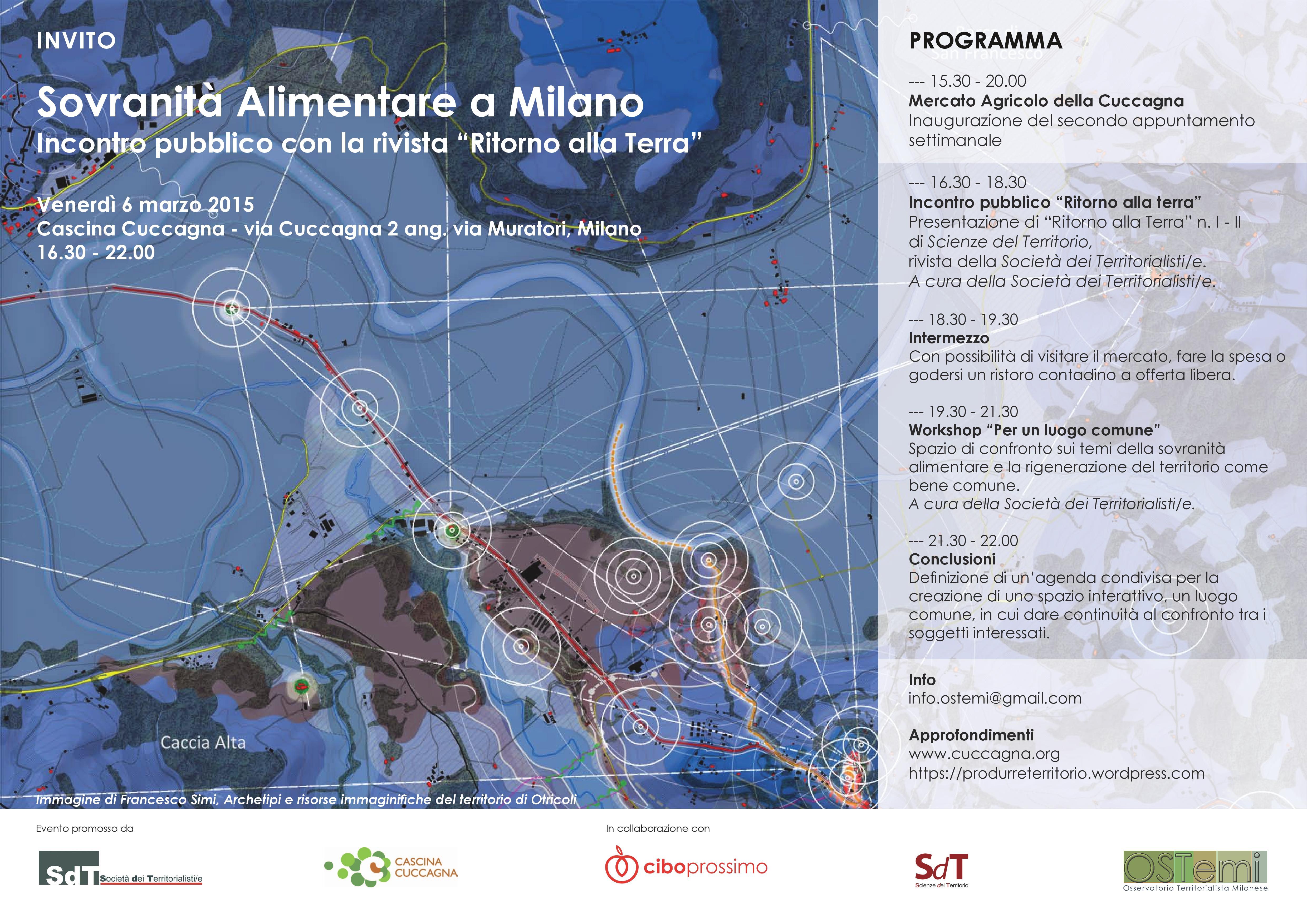Sovranità Alimentare a Milano - Locandina