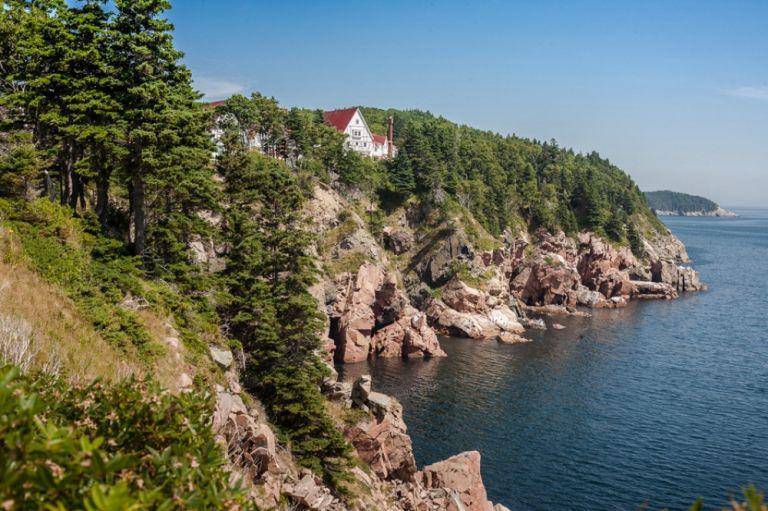 Cape Breton - Casa sulla scogliera