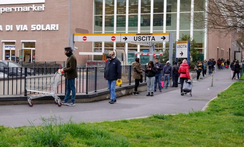 Covid-19 Code Supermercati di Milano