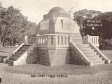 Monumen Lingga dina taun 1930-an
