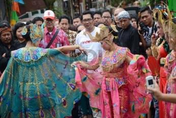 Ibing merak disakseni ku Wali Kota Bandung