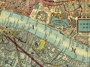1850 London bermondsey Cross Map (see Evernote)