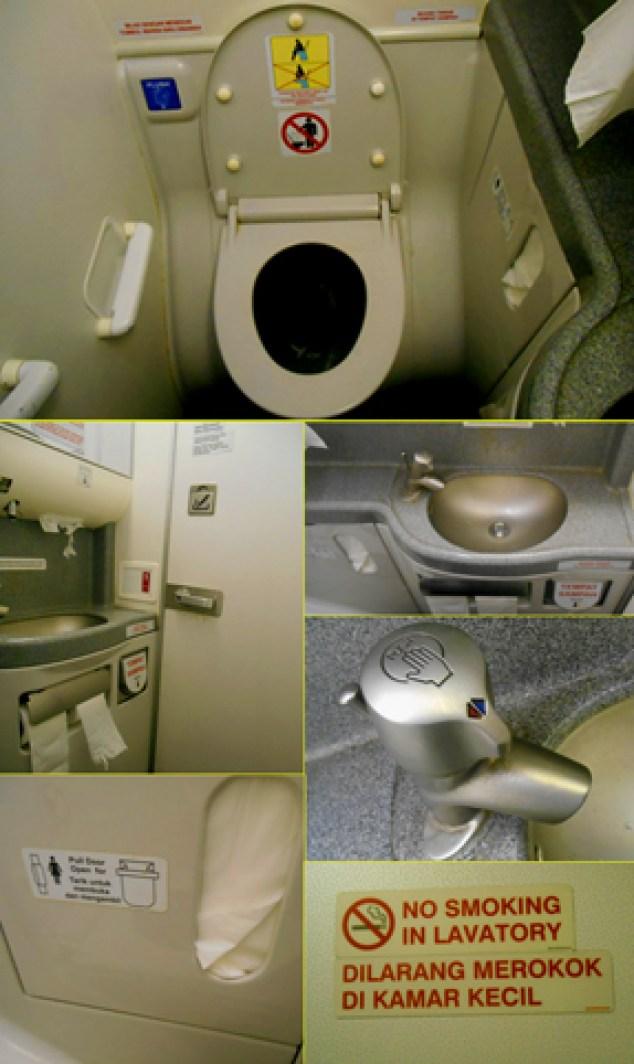 dalam toilet pesawat