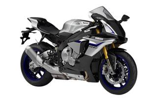 YZF-R1M Silver Blue Carbon