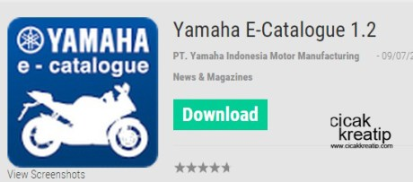 e-catalogue yamaha indonesia