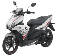 Yamaha Aerox 125LC Light Speed White