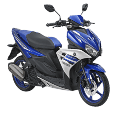 Yamaha Aerox 125LC Racing Blue
