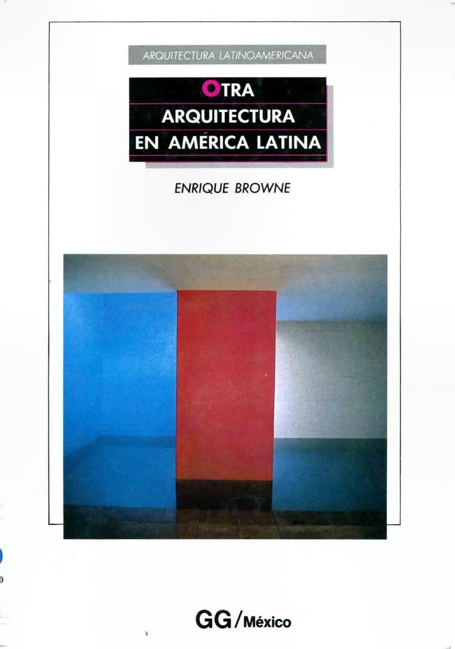 Otra arquitectura en América Latina