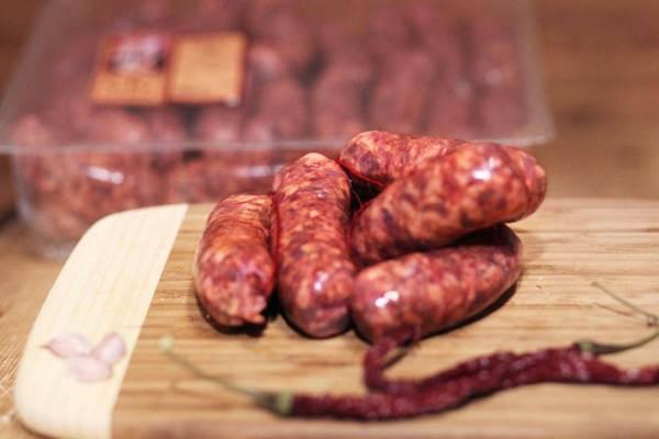 Salsiccia Fegato Piccante