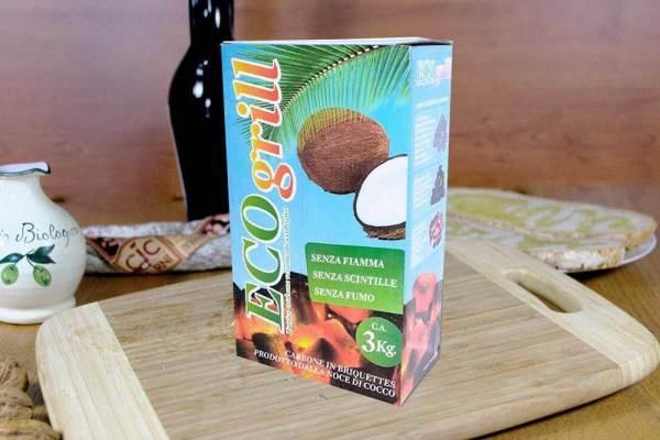 carbone di cocco arrosticini
