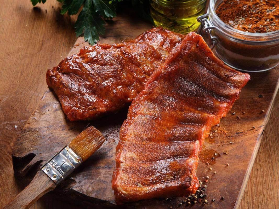 american barbecue maiale suino