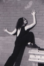 CiCi Blumstein dancing Makeshift Body, Brighton. Photo: Christopher Hornzee-Jones