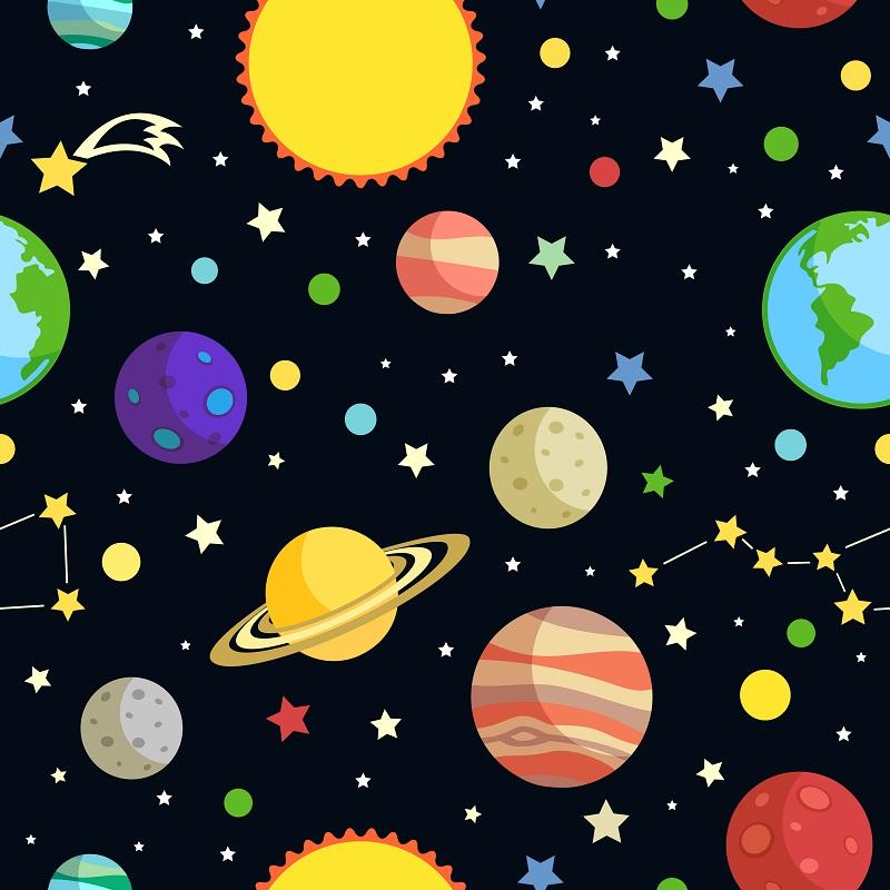 Desenho Sistema Do Dos Solar Planetas