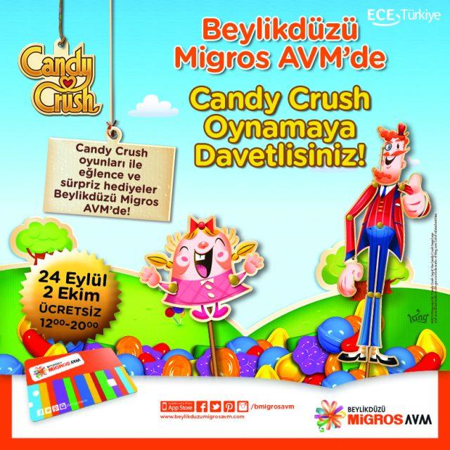 Candy Crush Çocuk Etkinlikleri