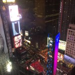 Times Square view