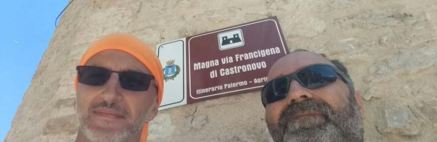 Magna Via Francigena in MTB