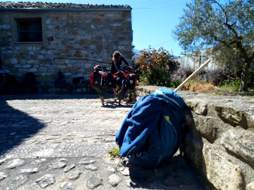 Bike Pilgrims on the Magna Via Francigena in Sicily