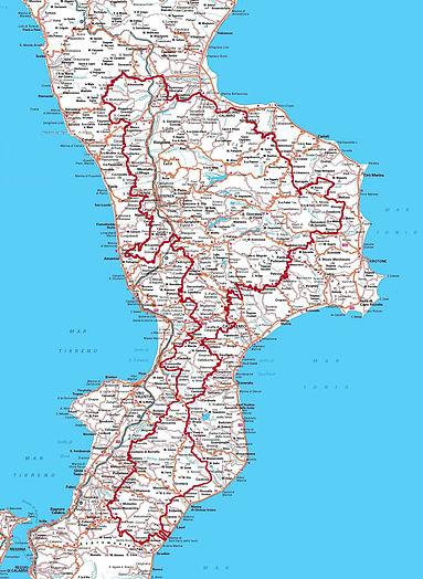 itinerario cicloturistico in calabria