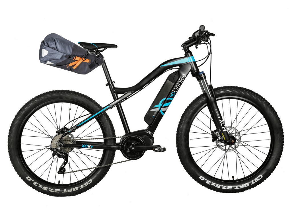 Brinke XCR+ e-MTB - Ortlieb Saddle Bag