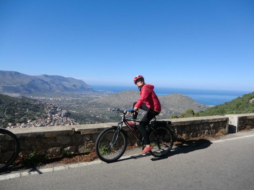 In bici a Palermo Sp1 da Palermo a Partinico in bici a noleggio
