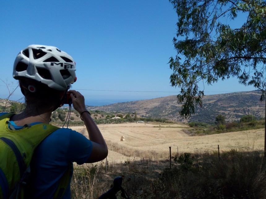 Itinerario cicloturistico in Sicilia SP9
