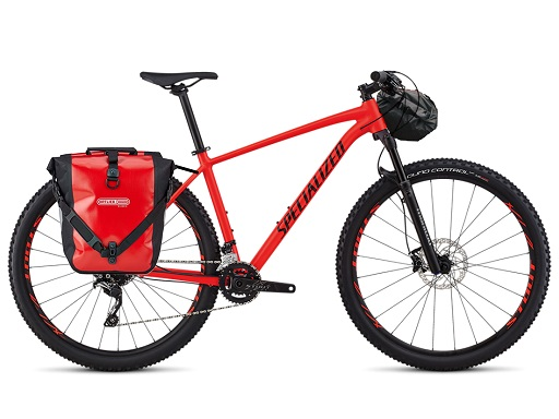 Speciazlied Rockhopper 29 PRO - Panniers and Handlebar bag