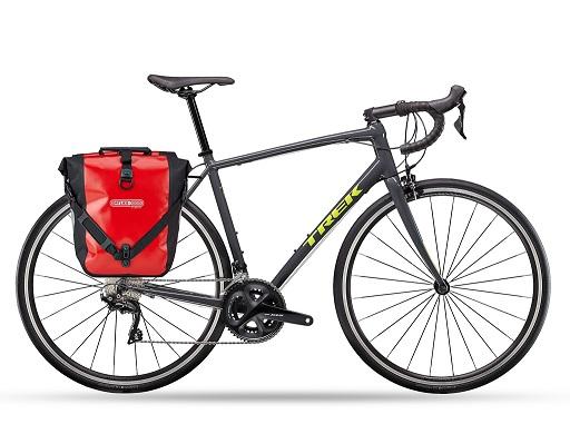 Trek Domane AL5 Road & Endurance + Ortlieb Panniers
