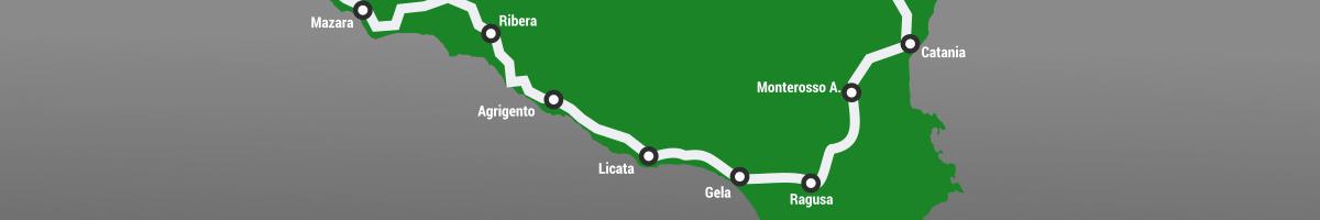 cicloturismo in Sicilia con la Mountain bike