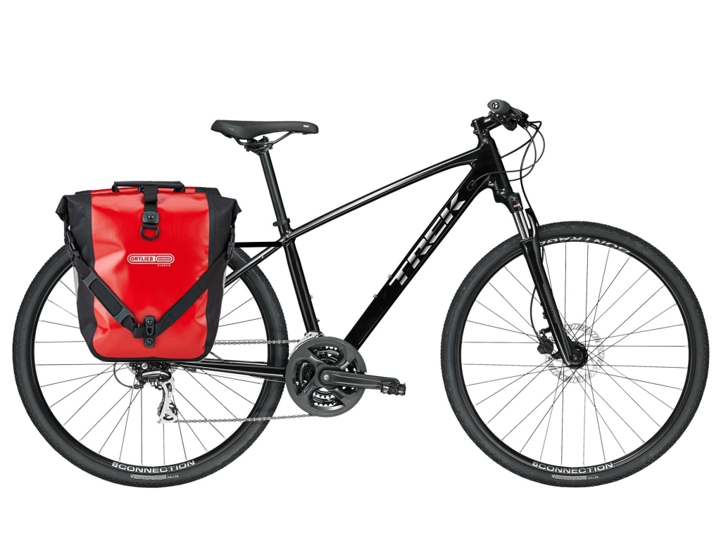 trek dual sport luggage