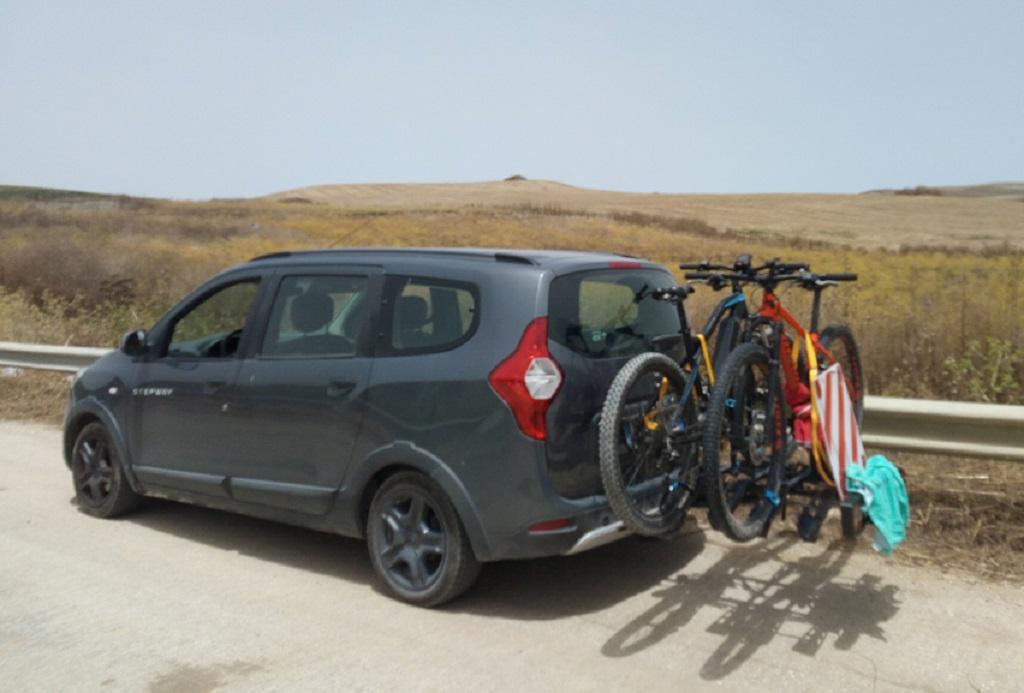 tour in bici in sicilia con trasporto bagagli