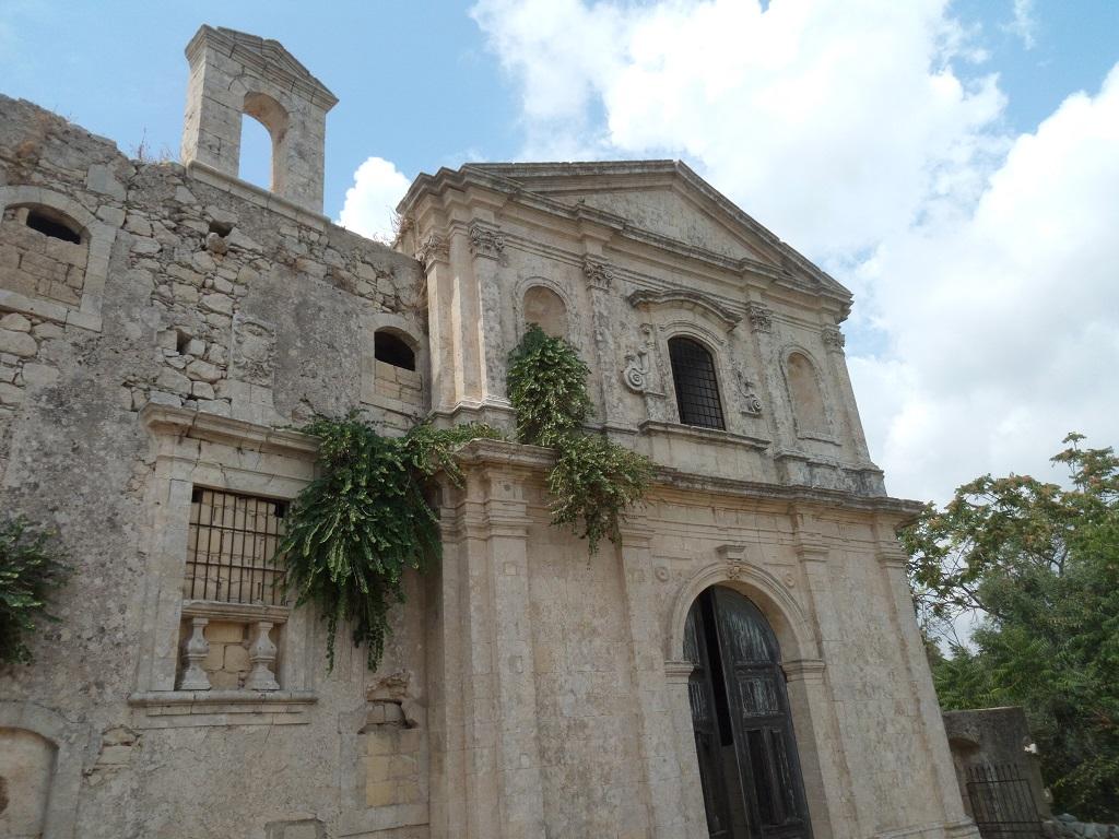 convento a noto antica facciata