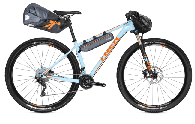 Trek Superfly 7 - Bikepacking