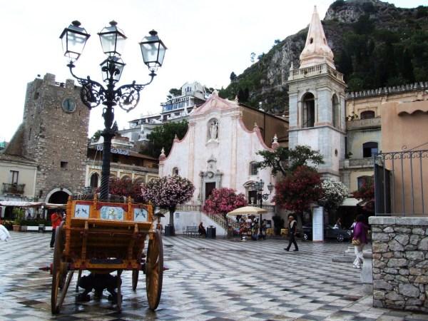 Affitto bici a Taormina