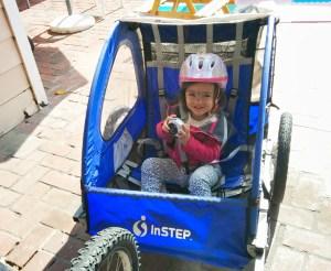 CV Jr. loves to ride