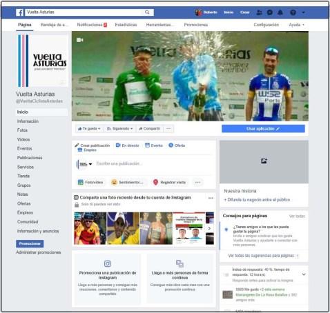 https://www.facebook.com/VueltaCiclistaAsturias/