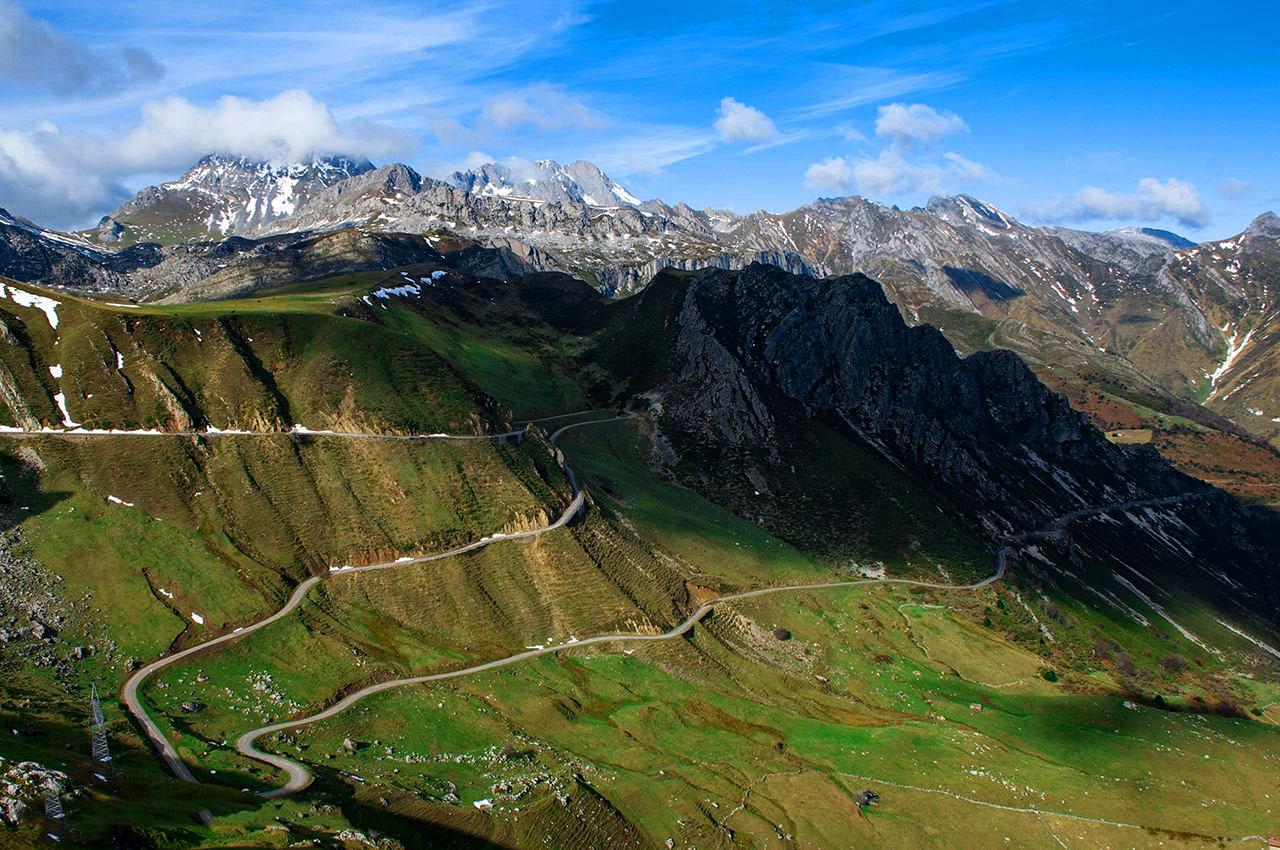 Alto de La Cubilla ⛰️ El puerto más bello de Asturias, Ciclismo Épico Lena