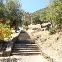 ...enquanto caminho até ao castelo