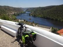 Mais uma descida até ao nível do Rio Tejo