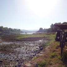 Desvio em Alvega para ver o rio Tejo de perto