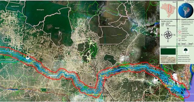 benefícios recuperação ambiental corredor araguaia