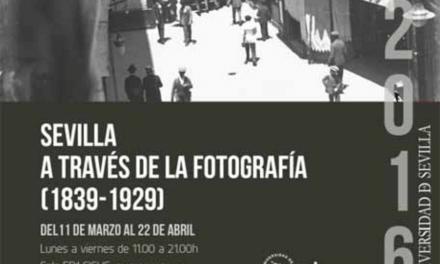 22ABR · CONFERENCIA · REFLEXIONES SOBRE SEVILLA Y LA FOTOGRAFÍA