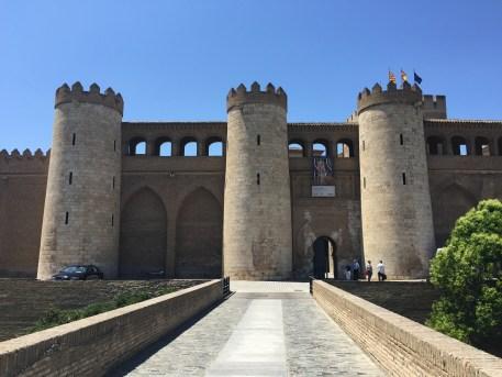 A Aljafería e Cortes de Aragón