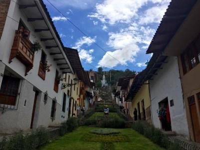 Subida cara ao Cerro Santa Apolonia