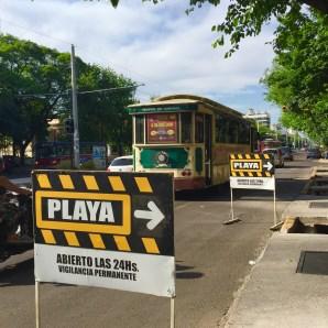 Así é como chaman os arxentinos aos aparcadoiros. Curioso, non si? Mendoza (Arxentina).