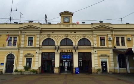 Edificio da Estación de Belgrado