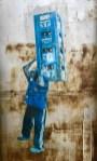 Imaxe hiper realista nun edificio en ruinas en Manaus (Brasil).